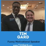 Tim Gard and Client