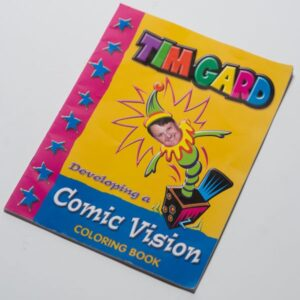 Tim Gard Shop - Comic Coloring Book