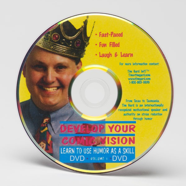 Tim Gard Shop - Developing Your Comic Vision DVD