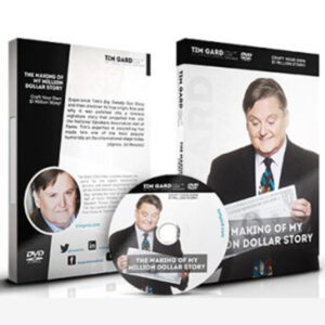 Tim Gard Shop Making of My Million Dollar Story DVD