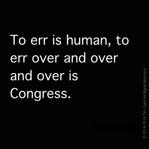 Tim Gard Joke of the Day - To Err is Human