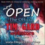 Tim Gard Now Open Flyer