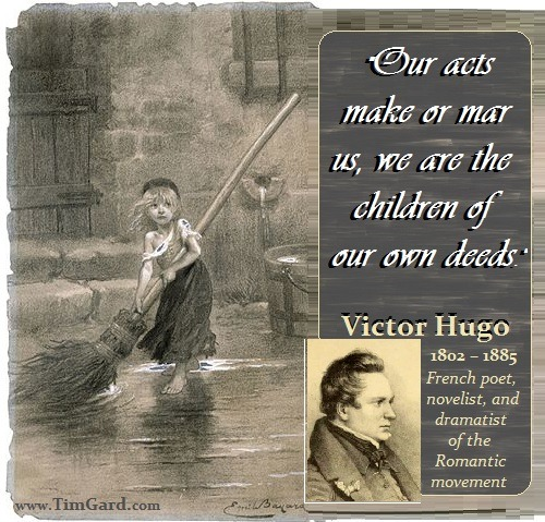 Tim Gard Monday Motivation: Victor Hugo