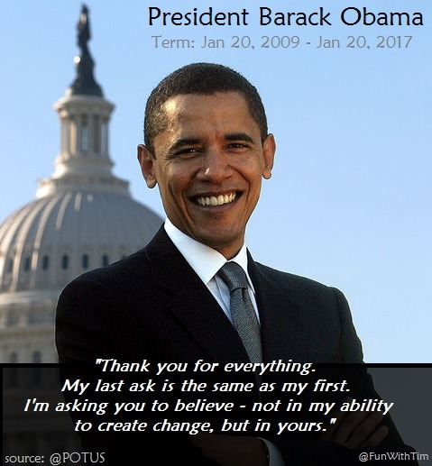 President Obama Exiting Request