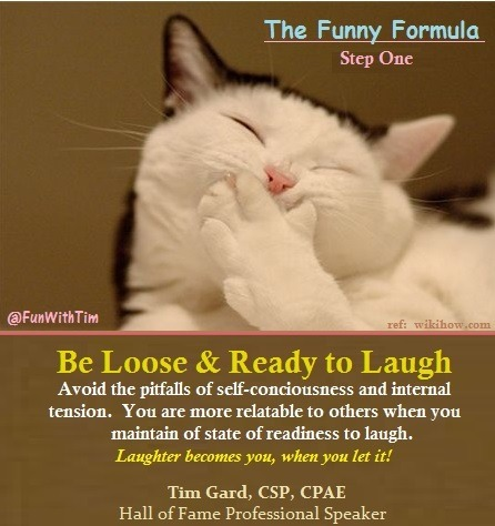Tim Gard Funny Formula - step one