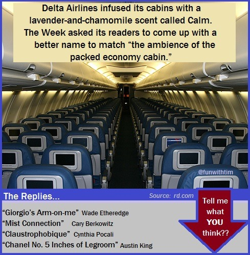 Delta Airlines Seat Scent
