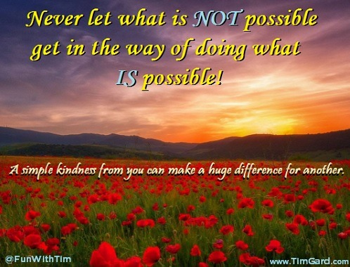 Tim Gard Do What IS Possible