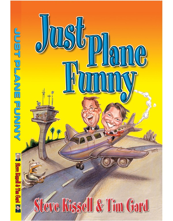 Tim Gard Shop - Just Plane Funny Book