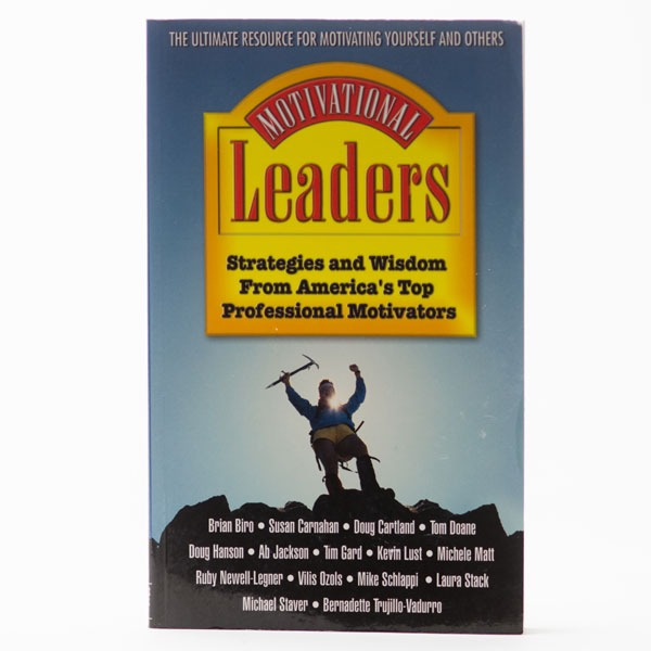 Tim Gard Shop - Motivational Leadership - Book