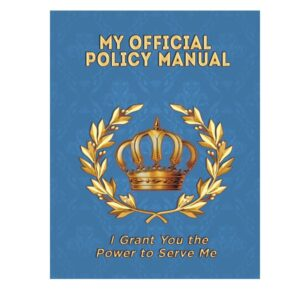 My Official Policy Manual - Tim Gard Shop