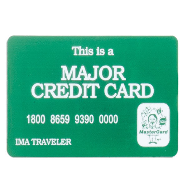 Tim Gard Shop - Major Credit Card