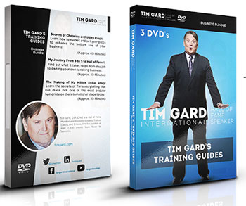 Tim Gard Training Guide DVD Series