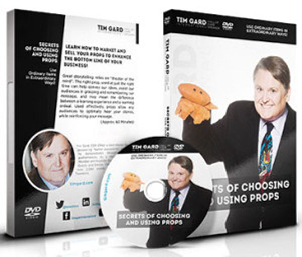 Tim Gard Shop Secrets of Choosing Using Props DVD