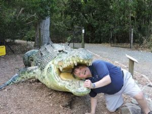 tim gard joke of the day - aligator