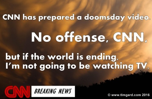 Tim Gard Meme - CNN Doomsday Video