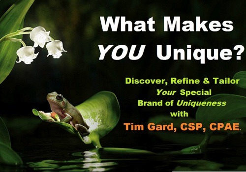 Tim Gard Blog - What Makes You Unique