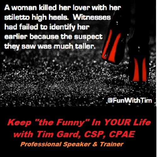 Tim Gard Meme Woman Kills Lover