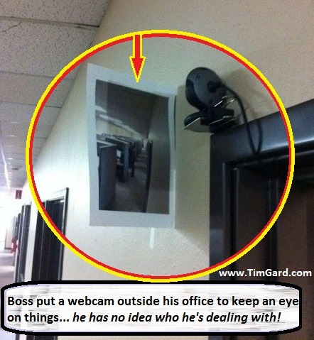Tim Gard Joke of the Day - Webcam
