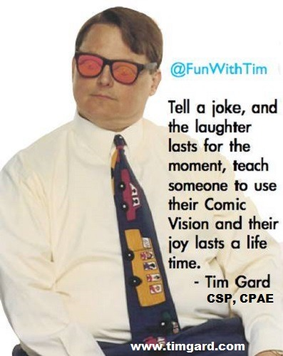 Tim Gard Meme - Laugh for a Lifetime