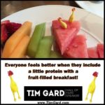 Tim Gard - breakfast