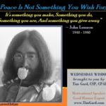 wednesday wisdom john lennon