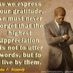 John F Kennedy Words of Wisdom