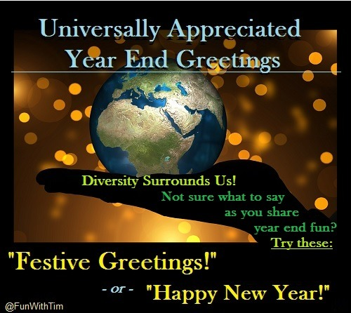 Universal Year End Greetings