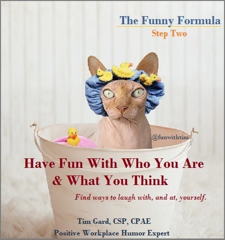 Tim Gard Funny Formula - step two