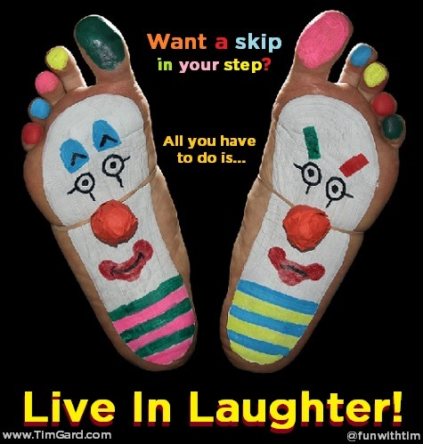 Tim Gard Meme - Live in Laughter