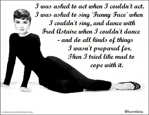 Tim Gard Monday Motivation - Audrey Hepburn