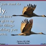 Tim Gard Wednesday Wisdom - How To Fly