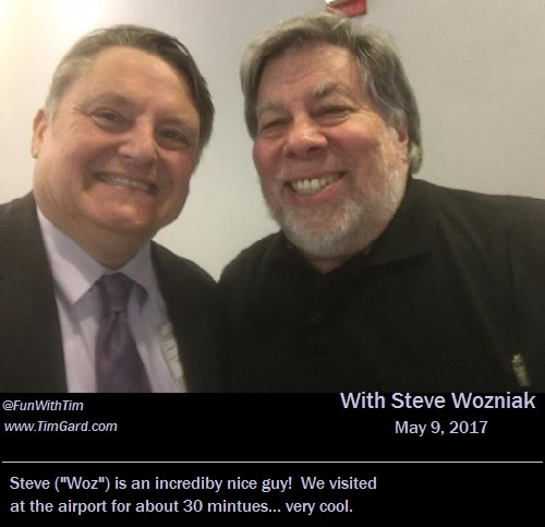 Tim Gard Meets Steve Wozniak